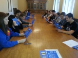 9. klasside õpilaste ekskursioon Riigikogusse.