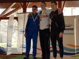 Maailma  karika  etapi  ujumises  auhinnavõitja 9.v  klassi  õpilane  Daniel  Žmogin.